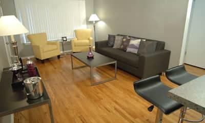 Living Room, Metropolitan Flats, 2