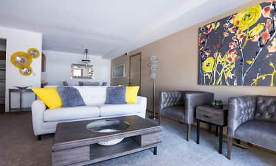 Living Room, Tanager Creek Townhomes, 1