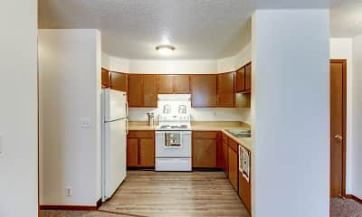 Kitchen, East Park Village Apartments, 1