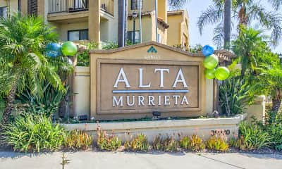 Community Signage, Gables Alta Murrieta, 2