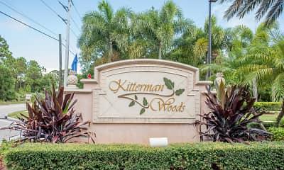 Community Signage, Kitterman Woods Apartments, 1