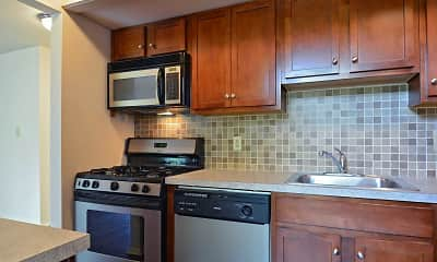 Kitchen, Central Park Townhomes, 1
