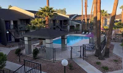 Pool, Canyon 35 Apartments, 0