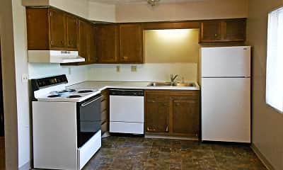 Kitchen, Lakeview Village - Ralston, 0