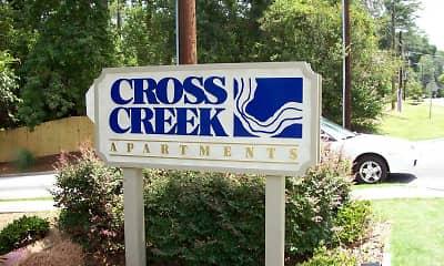 Community Signage, Cross Creek Apartments, 2