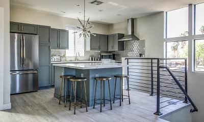 Kitchen, Roosevelt Luxury Townhomes, 1