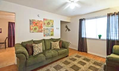 Living Room, Chartre Oaks, 1