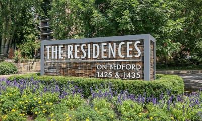 Community Signage, The Residences on Bedford, 2