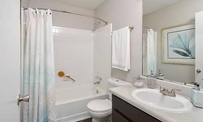 Bathroom, Polo Club, 2