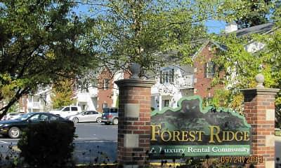 Building, Forest Ridge, 1