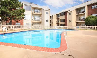 Pool, Eagle Crest Apartments, 0
