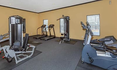 Fitness Weight Room, 1500 Oak, 2