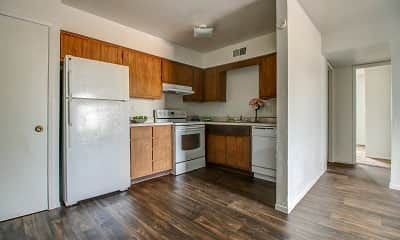 Kitchen, Carole Arms Apartments, 1