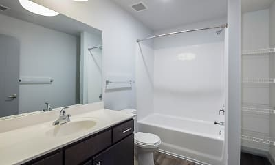 Bathroom, Century Towers - Per Bedroom Lease, 2