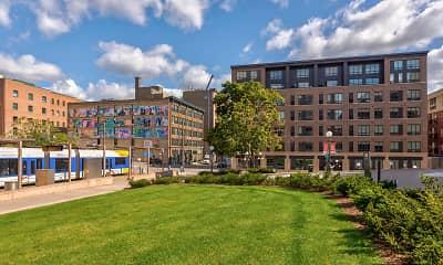 Building, Oaks Union Depot Apartments, 0