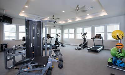 Fitness Weight Room, 10X Living at Panama City Beach, 1
