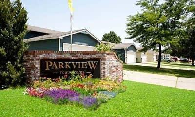 Community Signage, Parkview Villas, 0