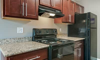 Kitchen, Wyndham Ridge Townhomes, 2