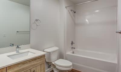 Bathroom, Northpointe Apartments, 2