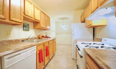 Kitchen, Oakview, 1