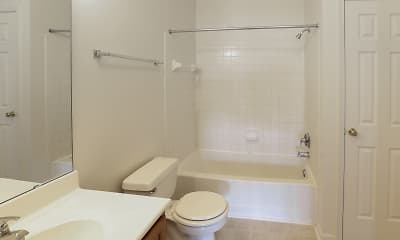 Bathroom, Meridian Oaks, 2