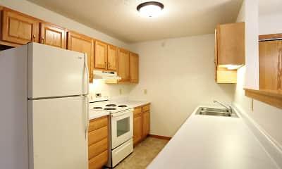 Kitchen, Mill Pond Apartments, 1