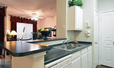 Kitchen, Refugio Place Apartment Homes, 1
