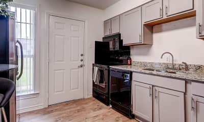 Kitchen, Hillburn Hills Apartments, 1