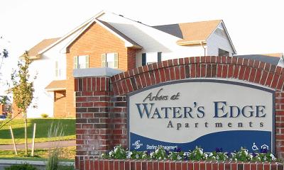 Community Signage, Arbors at Water's Edge, 2