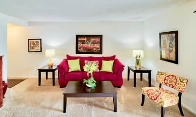 Living Room, South Lake Apartments, 0