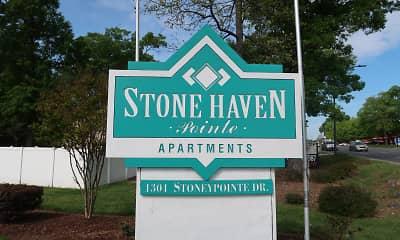 Community Signage, Stone Haven Pointe, 1