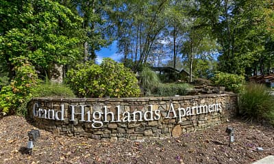 Community Signage, Grand Highlands Vestavia Hills, 2