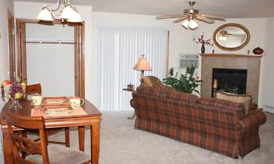 Bedroom, Fox Point Apartments, 0