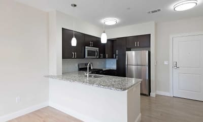 Kitchen, Axis at Lake Shore, 1