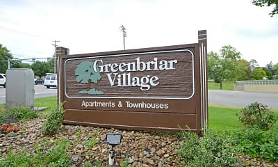 Community Signage, Greenbriar Village Apartments & Townhomes, 2