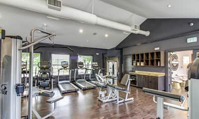 Fitness Weight Room, The Gramercy, 2