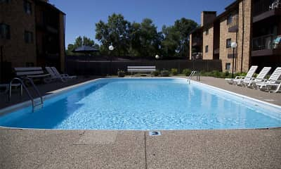Pool, Westwood Park Apartments, 1