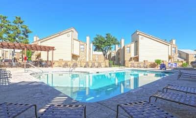 Pool, Meridian Apartments, 0