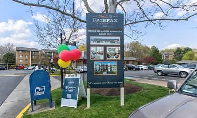Community Signage, Woods of Fairfax Apartments of Lorton, 2