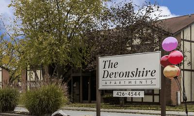 Community Signage, Devonshire Apartments, 0