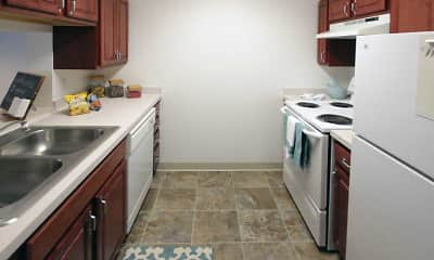 Kitchen, The Commons - Senior Housing, 1