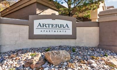 Community Signage, Arterra, 2