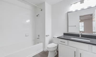 Bathroom, Lakeside Apartments, 2
