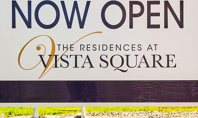 Community Signage, The Residences at Vista Square, 2