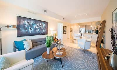 Living Room, The Mile at Coral Gables, 2