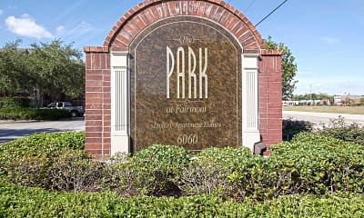 Community Signage, The Park At Fairmont, 2