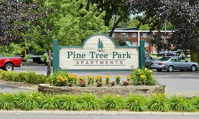 Community Signage, Pine Tree Park Apartments, 2