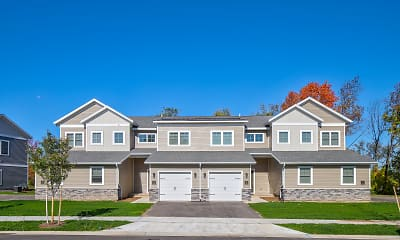 Building, Michigan Meadows Townhomes, 2