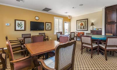Dining Room, Mesa Royale a 55+ Community, 1