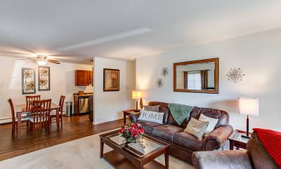 Living Room, Westmore Apartments, 0